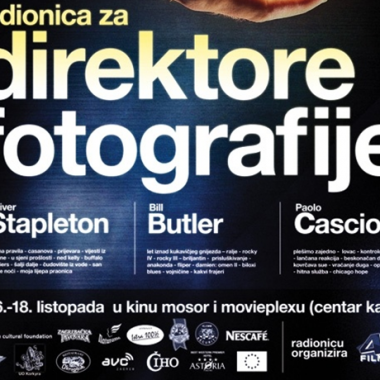 EDUCATION - Workshop for Directors of photography